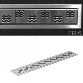 Декоративная накладка для душевого  трапа  1000 мм, глянцевая /589790/ ER6