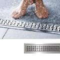 Декоративная накладка VIEGA для  душевого трапа ER7-1200 мм,глянцевая поверхность, нержавеющая сталь /589905/