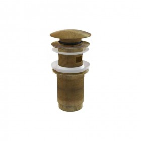 Донный клапан для раковины AlcaPlast бронза A392-ANTIC ALCAPLAST