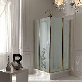 Душевой уголок Kerasan Retro 9149N3/1340 с одной распашной дверью 100х100 см