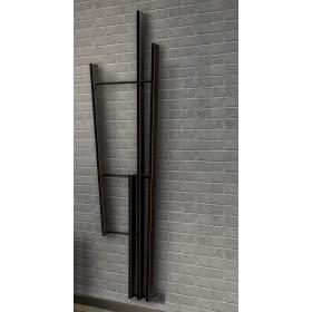 Электрический полотенцесушитель чёрный Brem LAMATH 9005M  BREM