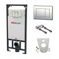 SET AlcaPlast Инсталяция для унитаза А101 кнопка M71 крепеж