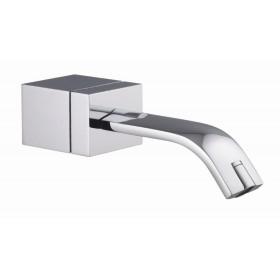Излив для ванны Brick, вынос носика 210 мм, хром /F2191CR/