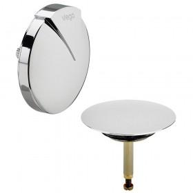 Комплект накладок VIEGA (розетка и клапан) для сифонов  Multiplex, хром /103378/