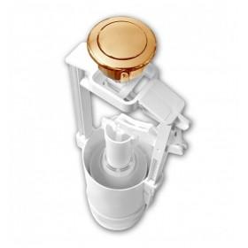 Механизм смыва к унитазу Kerasan Retro кнопка бронза 750993