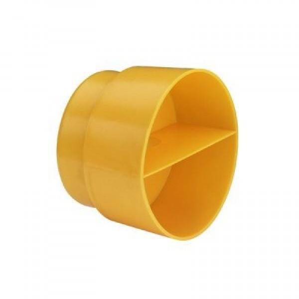 Заглушка для отвода большая пластмасса /308377/