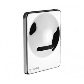 Накладная электронная панель для писсуара с инфракрасным датчиком SCHELL INFRA ,хром /011230699/ дополнительно нужна 011930099