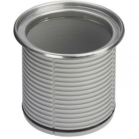 Насадка  VIEGA к трапу для круглых решеток , нержавеющая сталь, диаметр 110 мм, с уплотнительным кольцом /586416/