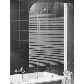Стеклянная шторка на ванну 80х140 см Schulte Komfort D16500172