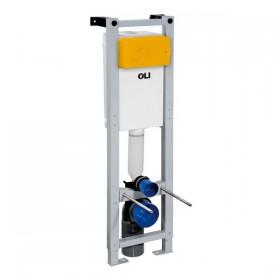 Узкая инсталляция для подвесного унитаза OLI Quadra Sanitarblock 280490m