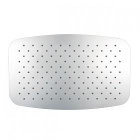 Верхний душ Softcube,суперплоский,прямоугольный (400х250х2) ,хром/1180057/