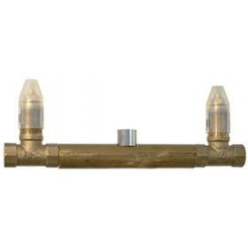 Внутренняя часть встроенного смесителя для раковины на три отверстия Carlo Frattini Fima F2240