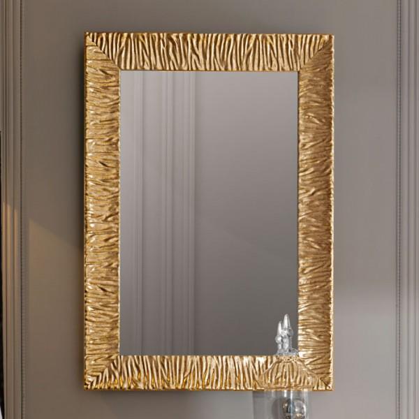 Зеркало RETRO 70*100 золотая рамка /736503/