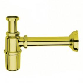 Сифон 1/4 для раковины, золото /F400 OR/